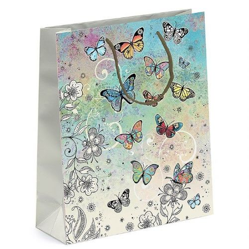 Bug Art Collection Butterfly Medium Gift Bag